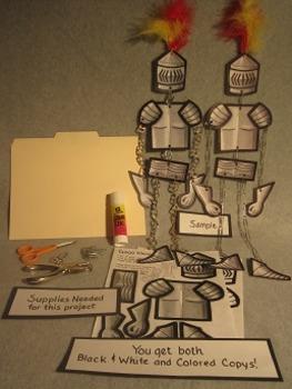 Good Knight in Shining Armor Mobile. Fun 3D Craft Art
