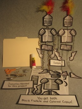 Good Knight in Shining Armor Mobile. Fun 3D Craft Art