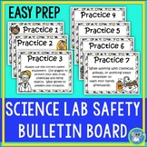 Good Laboratory Practices Bulletin Board Set:  Lab Safety