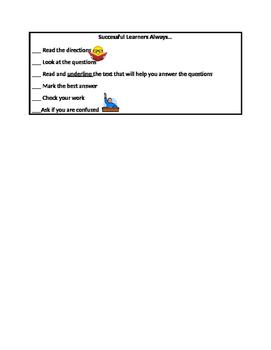 Good Learner Checklist