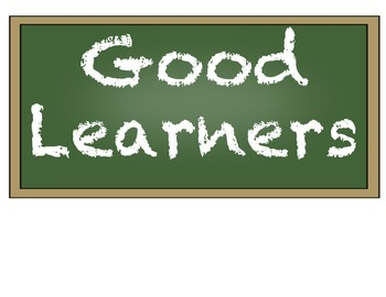 Good Learners Posters