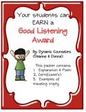 Good Listener Award