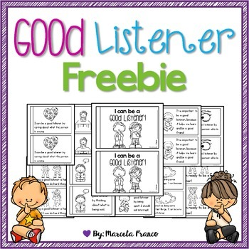 Be a Good Listener Little Reader