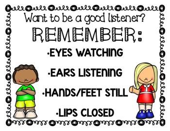 Good Listener Poster Set