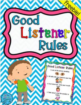 Good Listener Rules