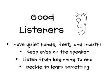 Good Listeners Poster