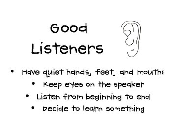 Good Listeners Poster