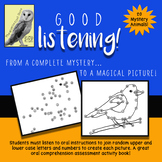 Good Listening! Magic Animal Pictures - Listening Comprehe