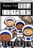 Good Listening Skills (Astronaut Theme)