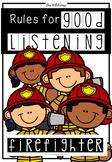 Good Listening Skills (Firefighter Theme)