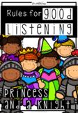 Good Listening Skills (Princess & Knight Theme)
