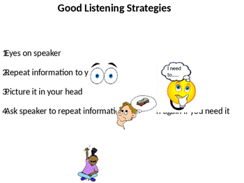 Good Listening Strategies