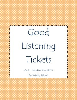 Good Listening Tickets