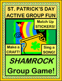 """Shamrock Game!"" - St. Patrick's Day Group Game, Crafts, and Song"