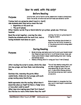 Readers Theatre: Good Manners