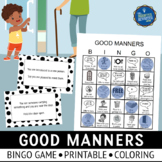 Good Manners Bingo and Role Play