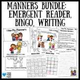 Good Manners Bundle for Teaching Manners SEL Curriculum