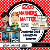 Good Manners Matter Interactive Lunch Tray Activities