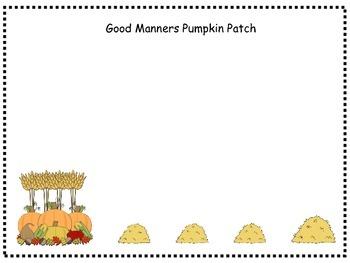 Good Manners Pumpkin Patch