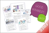 Good Manners Quiz 2/2