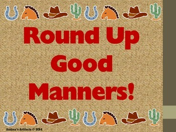 Good Manners Rules