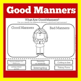 Good Manners Lesson Worksheet