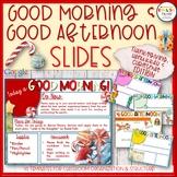 Good Morning & Afternoon Slides {Thanksgiving, Hanukkah &