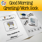 Autism Daily Work Book Morning