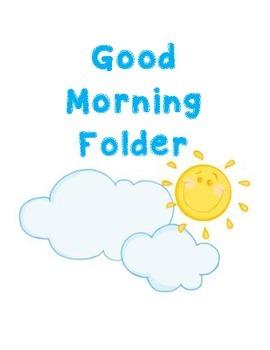 Good Morning Folder