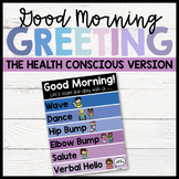 Good Morning Greeting Poster (The Health Conscious Version)