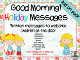 Good Morning! HOLIDAY Messages