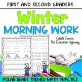 Winter Math Morning Work | Polar Bears