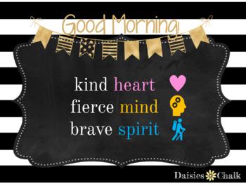 Good Morning Message Q2