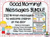 Good Morning! Message BUNDLE