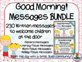 Good Morning! Message BUNDLE