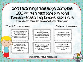 Good Morning! Messages