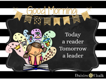 Good Morning Messages - Growing Bundle