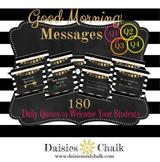 Good Morning Messages - Growing Bundle