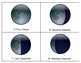 Phases of the Moon Observation Chart and Book / Good Morning Moon