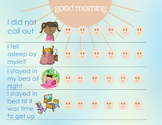 Good Morning Poster for Bedtime Routines