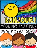 Good Morning Routines ☼ Poster Set