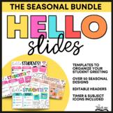 Good Morning Slides BUNDLE