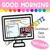 Good Morning Slides - Colour me Confetti