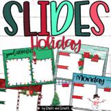 Good Morning Slides Editable HOLIDAY