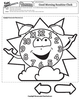 Good Morning Sunshine Clock