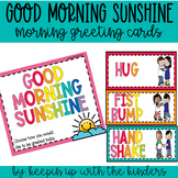 Good Morning Sunshine; Morning Greeting Choice Board