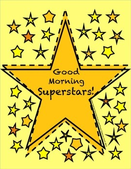 Good Morning Superstars! {45} 2nd Grade Morning Work Activity Pages
