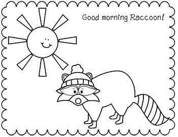 Good Morning Winter Animals-Greetings/Interactive Book