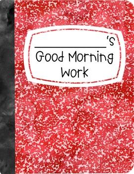 Good Morning Work Folder