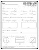 Morning Work - April (Math)
